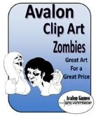 Avalon Clip Art Sets, Zombies
