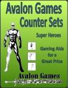 Avalon Counter Sets, Super Heroes