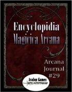 Arcana Journal #29
