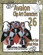 Avalon Clip Art Characters, Star Knight 8