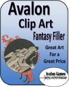 Avalon Clip Art, Fantasy Filler