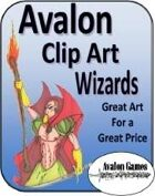 Avalon Clip Art Sets, Wizards