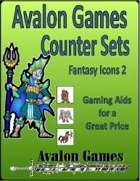Avalon Counter Sets, Fantasy Icons 2