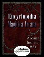 Arcana Journal #31