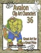 Avalon Clip Art Characters, Orc 2