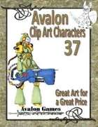 Avalon Clip Art Characters, Sci-Fi Girl