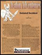 Avalon Adventures, Vol 3, Issue #2, Isolated Incident