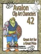Avalon Clip Art Characters, Orc 3