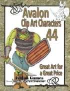 Avalon Clip Art Characters, Orc 4