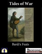 Tides of War: Bard/X Feats