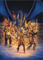 Larry Elmore's Might and Magic 8 Poker Deck