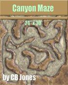 Canyon Maze 24x30