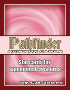 Pathfinder Summon Monster Cards