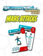 Dreadball Reference Cards: Martian Team