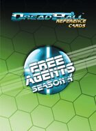 Dreadball Reference Cards: Season 4 Free Agents