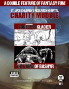 Double Feature Charity Module: Erik Jensen's Bonespur Glacier and Jason Paul McCartan's The Tomb of Bashyr