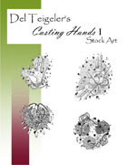 Del Teigeler's Casting Hands I Stock Art