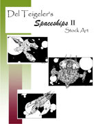 Del Teigeler's Spaceships II Stock Art