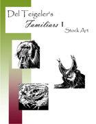 Del Teigeler's Familars I Stock Art