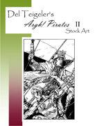 Del Teigeler's Argh! Pirates Stock Art II