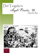Del Teigeler's Argh! Pirates Stock Art III