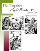 Del Teigeler's Argh! Pirates Stock Art IV