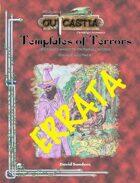 Templates of Terrors Errata