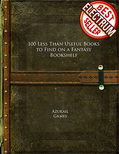 100 Less Than Useful Books to Find on a Fantasy Bookshelf