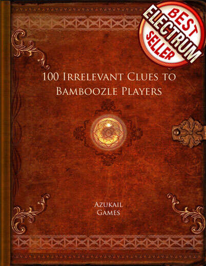 100 Irrelevant Clues to Bamboozle Players