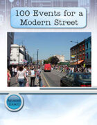 100 Events for a Modern Street