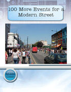 100 More Events for a Modern Street