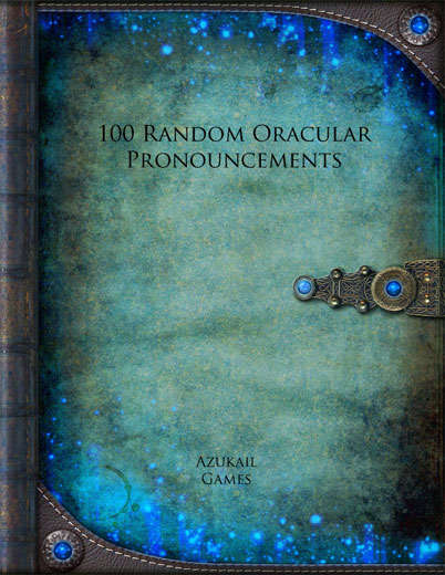 100 Random Oracular Pronouncements