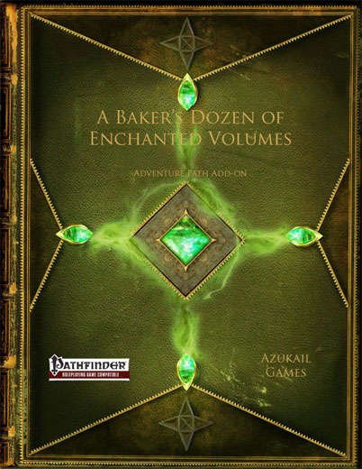 A Baker's Dozen of Enchanted Volumes (PFRPG)