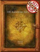 100 Random Taverns
