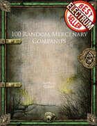 100 Random Mercenary Companies