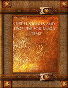 100 Histories and Legends for Magic Items