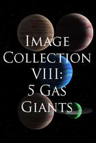 Image Collection VIII: 5 Gas Giants