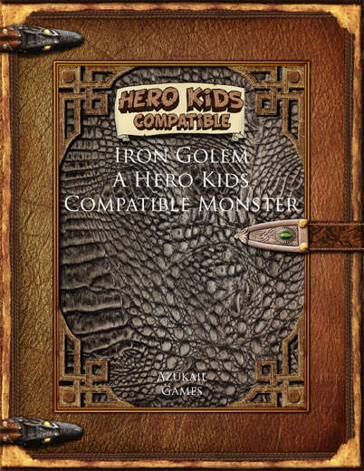 Iron Golem - A Hero Kids Compatible Monster