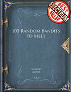 100 Random Bandits to Meet