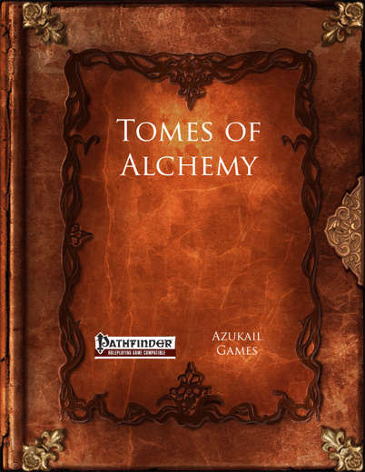 Tomes of Alchemy (PFRPG)