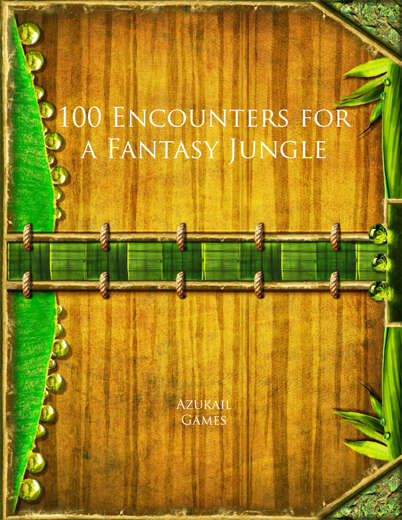 100 Encounters for a Fantasy Jungle