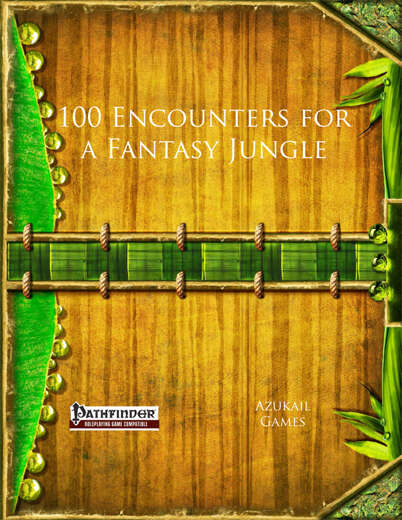 100 Encounters for a Fantasy Jungle (PFRPG)