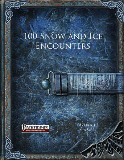 100 Snow and Ice Encounters (PFRPG)