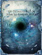 100 Detailed Bits of Junk to Find in Space