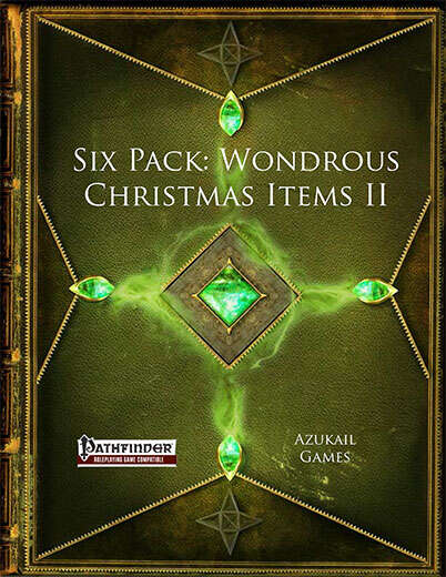 Six Pack: Wondrous Christmas Items II (PFRPG)