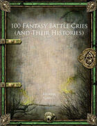 100 Fantasy Battle Cries (And Their Histories)