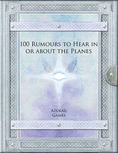 100 Rumours to Hear in or about the Planes