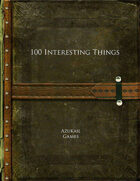 100 Interesting Things
