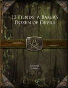 13 Fiends: A Baker's Dozen of Devils