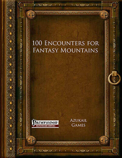 100 Encounters for Fantasy Mountains (PFRPG)
